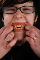'Werecat' Teeth - Full View by Anesthetic-X