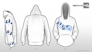 8-Bit Composer's Hoodie by Zztfox