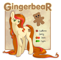 Commission - Gingerbear Reference by StyxLady