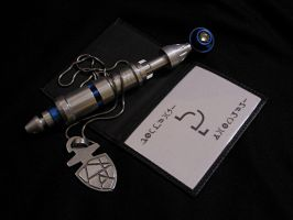 Custom Sonic Screwdriver and Friends by Police-Box-Traveler
