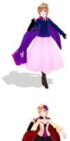 {MMD APH} Fem!France by Drindrence