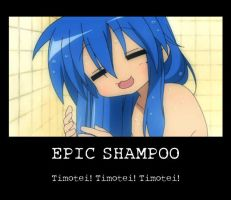 Epic Shampoo by zaEvilAndZObsessed