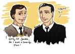 Jeeves and Wooster by yamiswift