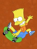 Bart cool by HeinousFlame