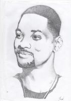 'Awww, Hell no!' Will Smith Portrait by Peris-Productions