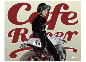 Cafe Racer by GrahamChmylowskyj