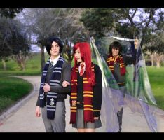 Harry Potter: Now you see me, Now you don't! by g-Kie