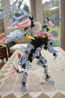 Bionicle MOC: Mistika Dragon by Rahiden