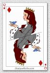 Sansa: Queen of Diamonds by SingerofIceandFire