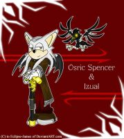 Osric Spencer and Daemon Izual by Eclipse-James