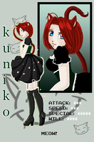 Kuniko PixelID by ShepardCommanderN7