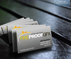 Fireproofgfx Business Card by fireproofgfx
