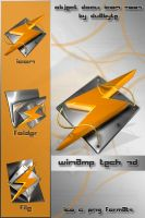 Winamp Tech 3D by d8abyte