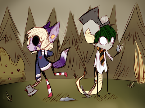 |Gift| Dont Starve Together by Br0kEnBunnies