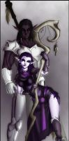 Aenerys and Tyrethsti by TheFaeFae