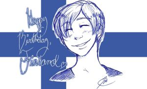 Happy Birthday, Finland by JakeHercy