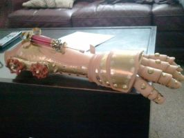Steam Splicer arm Work in progress by Skinz-N-Hydez