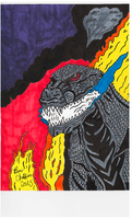 For Gabe-TKE. My new Godzilla 2016! by Shin-Ben