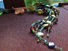 Complete: Dragonfly Lariat by SadiesAccessories