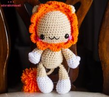 Baby Lion Amigurumi by adorablykawaii