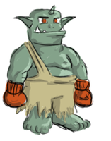 Orc Boxer by NoidEXE
