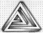 Weird Penrose Triangle by Insanemoe