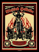 blessed hellride by Satansgoalie