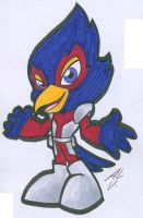 COOL FALCO by WhiteFox89