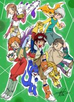 Digimon Adventure 02 by arima