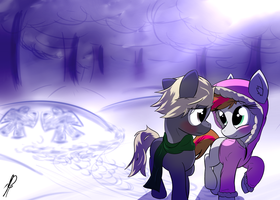 Winter's Walk by DJP15