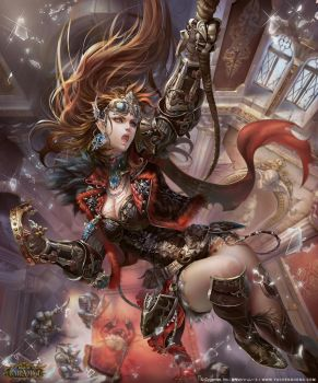 Val, Queen of Thieves LV4 by yuchenghong