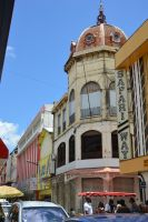 Street and building to Fort De France 2 by A1Z2E3R