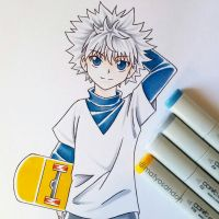 killua  by matyosandon