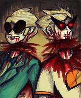 Dead Striders Tell No Tales by DisforDelirium