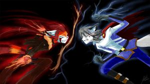 Shion vs Vincent by howlzapper