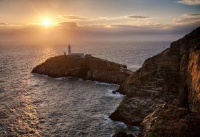 South Stack Sunset by CharmingPhotography