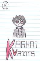 Human Karkat Vantas by Warriors1333