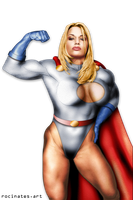 Lots of Power Girl by rocinates-art