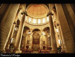Cathedral of Xewkija 2 by calimer00