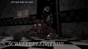 Foxy and Bonnie [Let's have some 'fun' Foxy] by BetrayingtheMartyr
