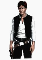 Han Solo by daveydingdong