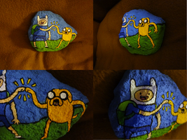 Adventure Time Rock by Mouseleaf