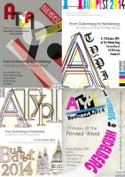 ATypI Posters by PixiRivets