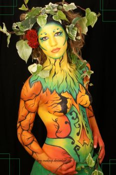 Body painting by thedarkplague