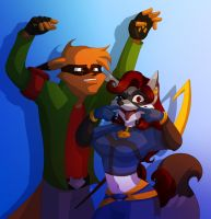 ::Collab:: ''The Dynamic Dweebs'' by Vixcoon