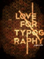 Love for typography by heygray