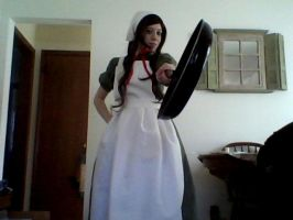 .:Cosplay:. Fear the Frying Pan! by PutNameHere
