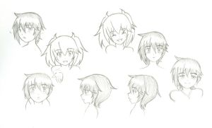 LaF Character expressions by Kig3n-Studios