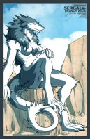 Sergal fanart color by siekfried