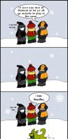 Snow Blues - Baby Titans by LibraryNinja